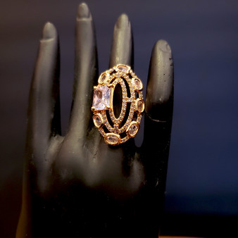 Rose GLD Ring 2b