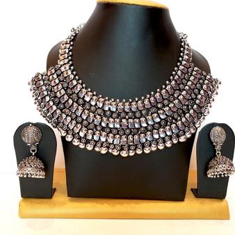 Oxidized Mega Necklace