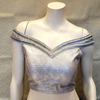 Silver Des. O/S size 36