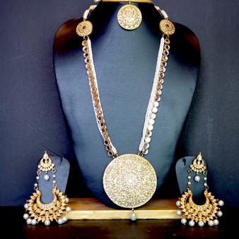 Chakram necklace