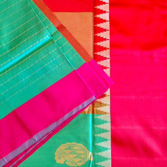 H/L Silk Patola Ganga-Jamuna