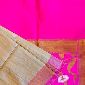 H/L Silk Patola Pythani Weave