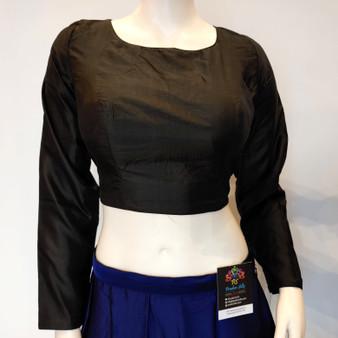 Silk L/S blouse