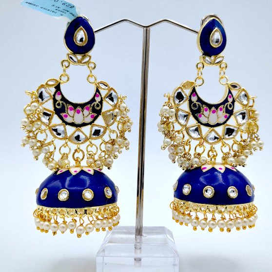 H. Painted Jhumka Royal