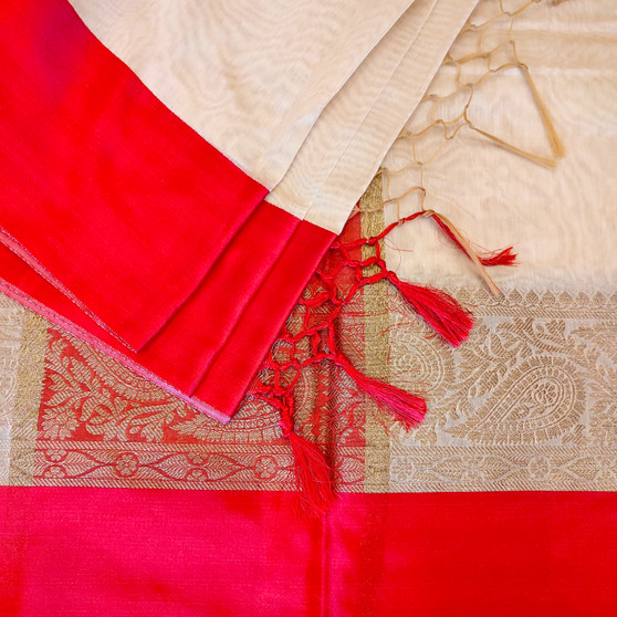 Chanderi Satin Silk  Border