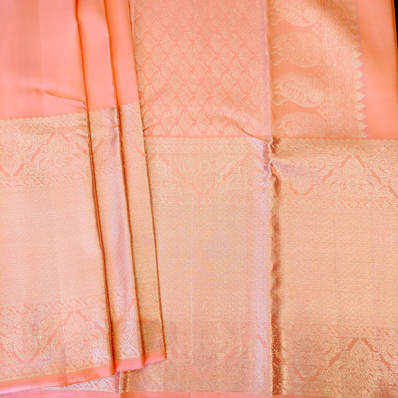 Silver Jari Pastel Peachy pink