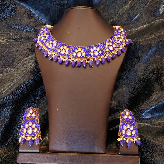 H/Painted Mega necklace