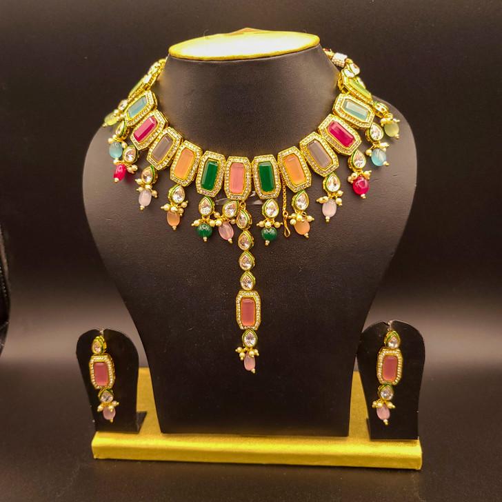 Multi LCD necklace L