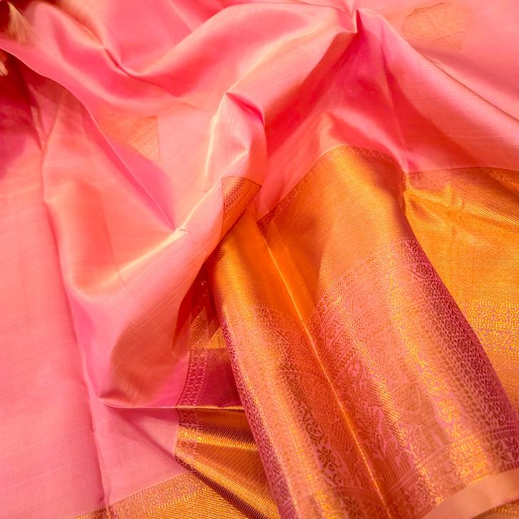 H/L Dusty Rose   Kanjiwaram