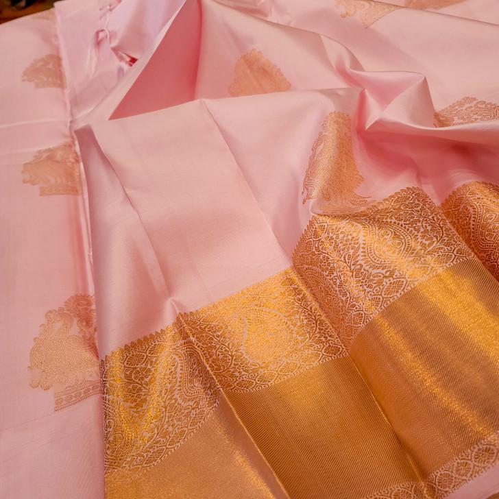 H/L = Baby pink  Kanjiwaram