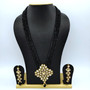 Kundan Neck set Black