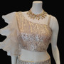 Gold Seq Lehengs/ Skirt/ Blouse