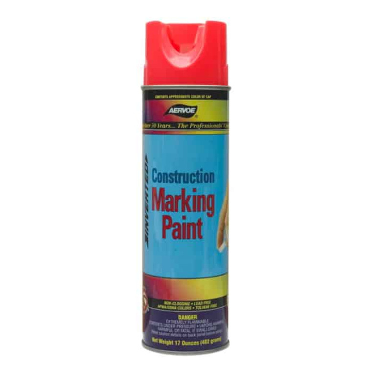 Aervoe Construction Marking Paint, Case of 12