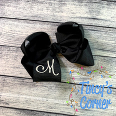 Solid Boutique Hair Bow