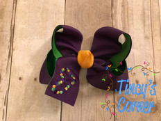 Mardi Gras Beads Boutique Hair Bow