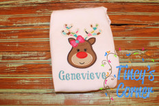 Reindeer Hairbow T-Shirt