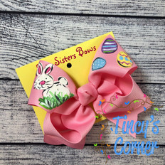 Easter Bunny Boutique Hair Bow