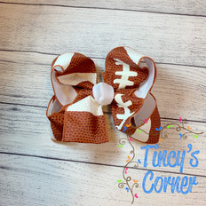 Football Boutique Hair Bow