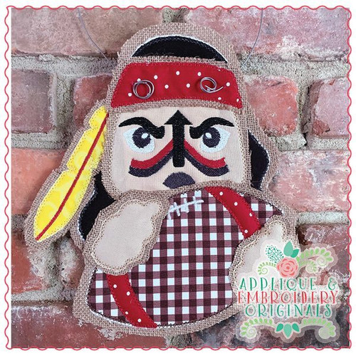 Seminole Native American Football Door Hanger X-Large