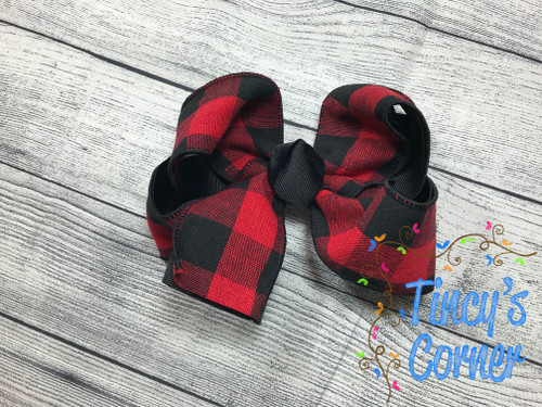 Buffalo Plaid  Boutique Hair Bow