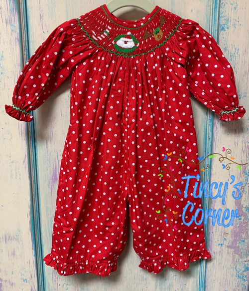 Joy Smocked Jumpsuit