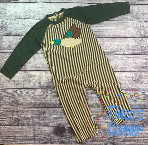 LS Mallard Duck Infant Boy's Romper