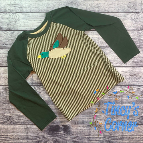 LS Mallard Duck Boy's Shirt