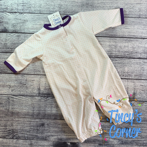 Infant Yellow Dots w/Purple Converter