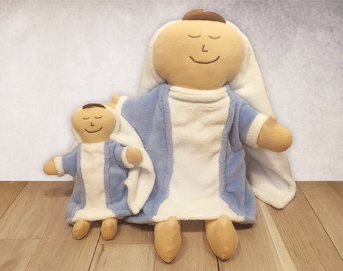 """21"""" and 12"""" Mary Doll"""