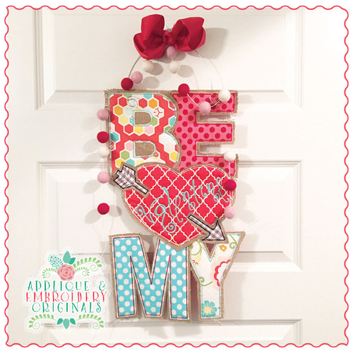 Be My Valentine Door Hanger X-Large