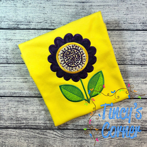 Zinnia Applique