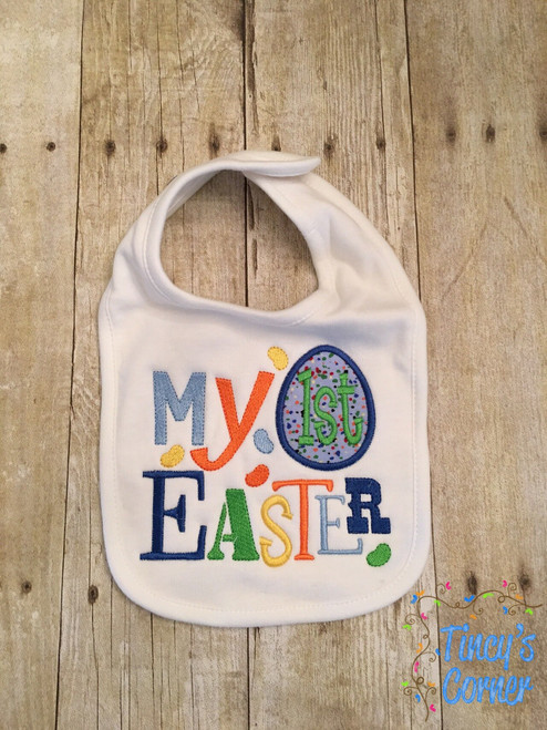 Boy My First Easter Applique