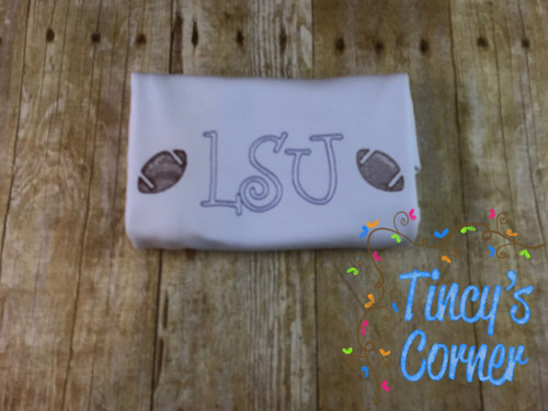 LSU Football Embroidery