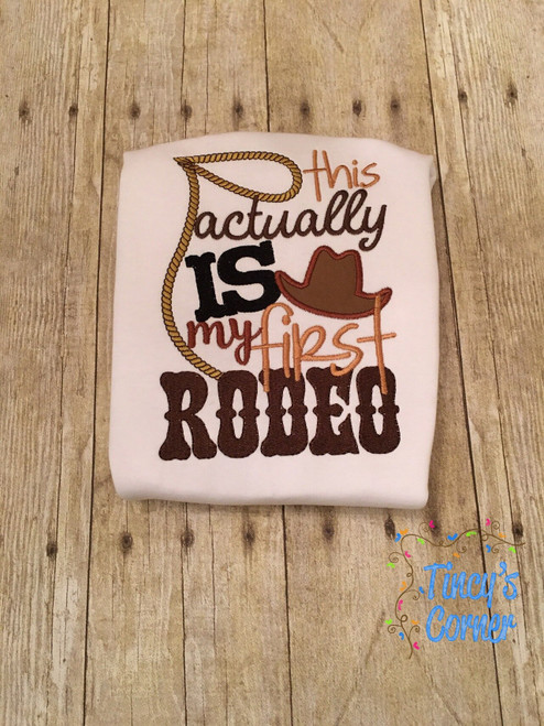 First Rodeo Boy Applique