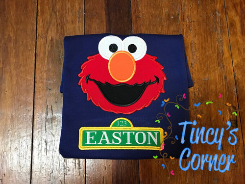 Elmo Applique