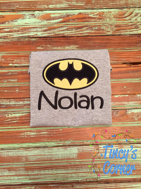 Batman Applique