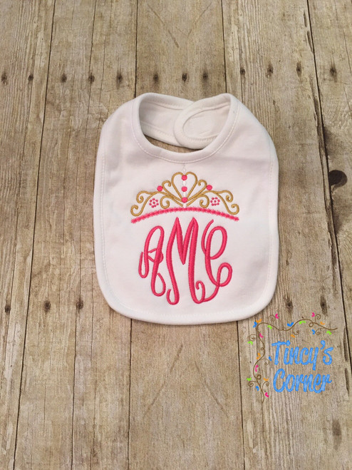 Princess Crown Embroidery