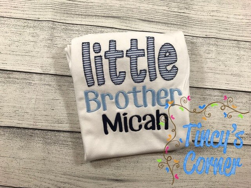 Little Brother Applique