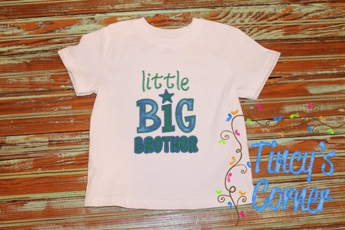 Little Big Brother Applique