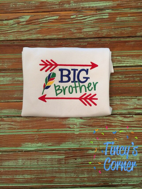Big Brother Arrow Embroidery