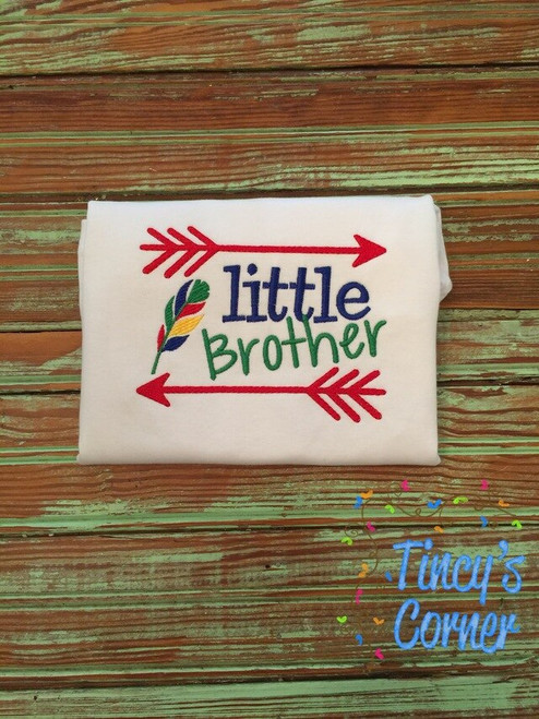 Little Brother Arrow Embroidery