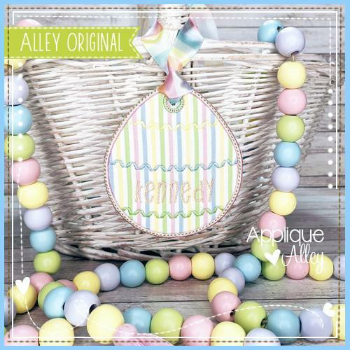 Easter Egg 2 Bag Tag