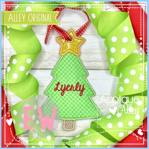 Christmas Tree Bag Tag