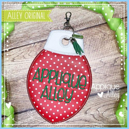 Christmas Light Bag Tag