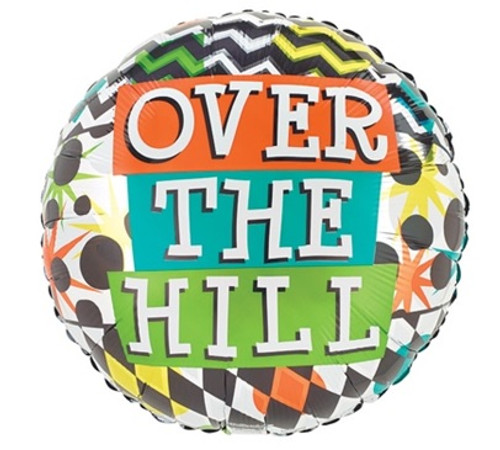 Over the Hill Foil Balloon