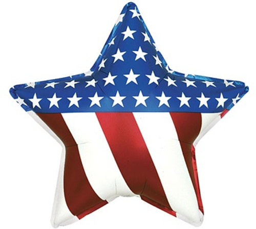 Stars and Stripes Foil Balloon