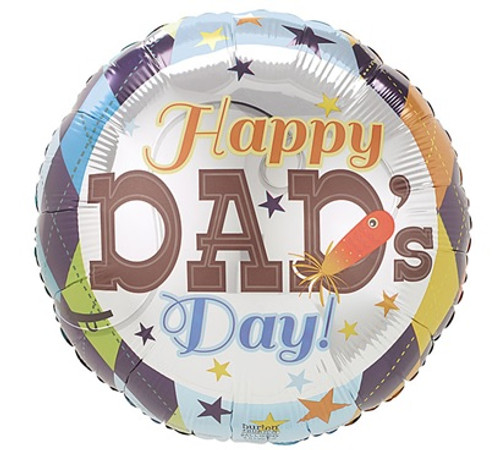 Happy Dad's Day Foil Balloon