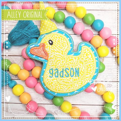 Rubber Ducky Bag Tag