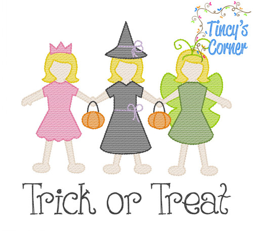 Trick or Treat Girl