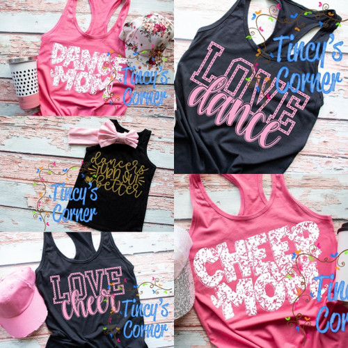 Dance and Cheer Designs